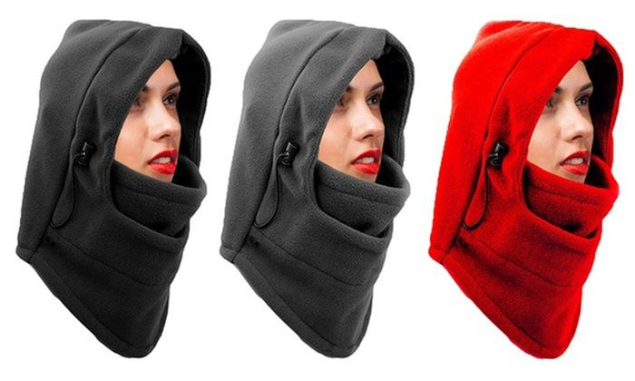 Photo of Groupon Goods Global GmbH: 8 in 1 fleece mask for life …