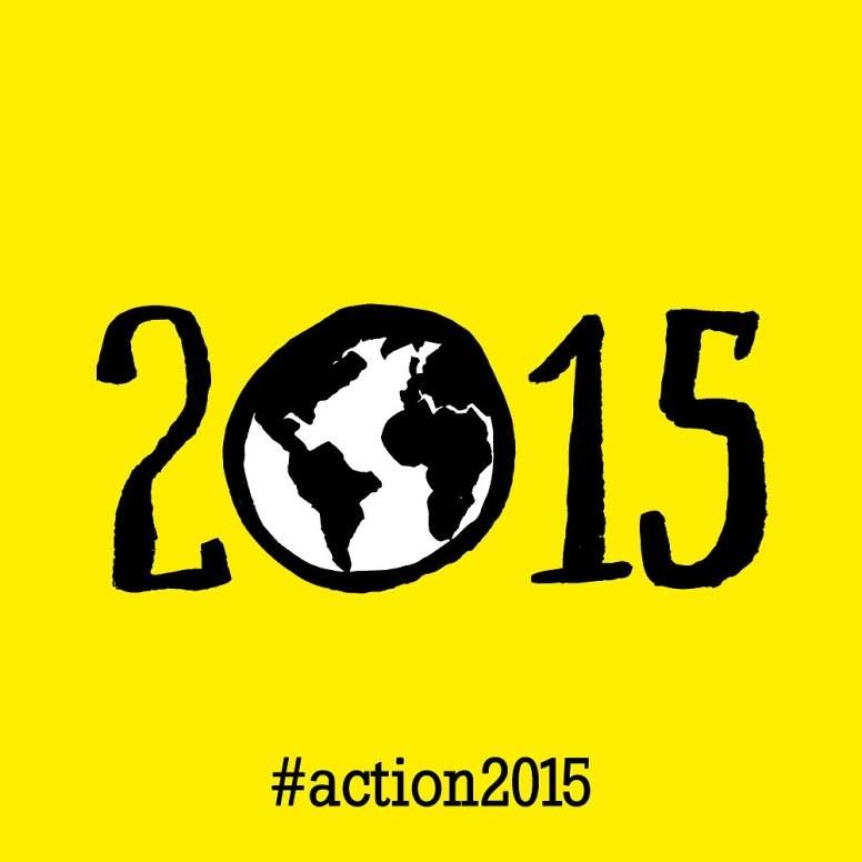 People around the world are joining action/2015 to create