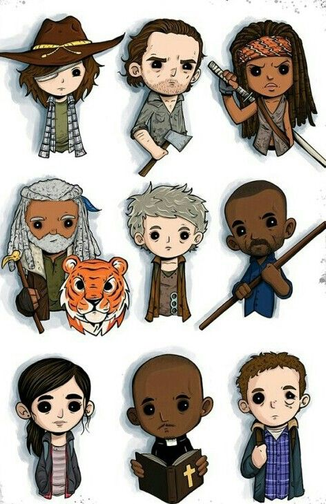 The Walking Dead Walking Dead Characters Walking Dead Art