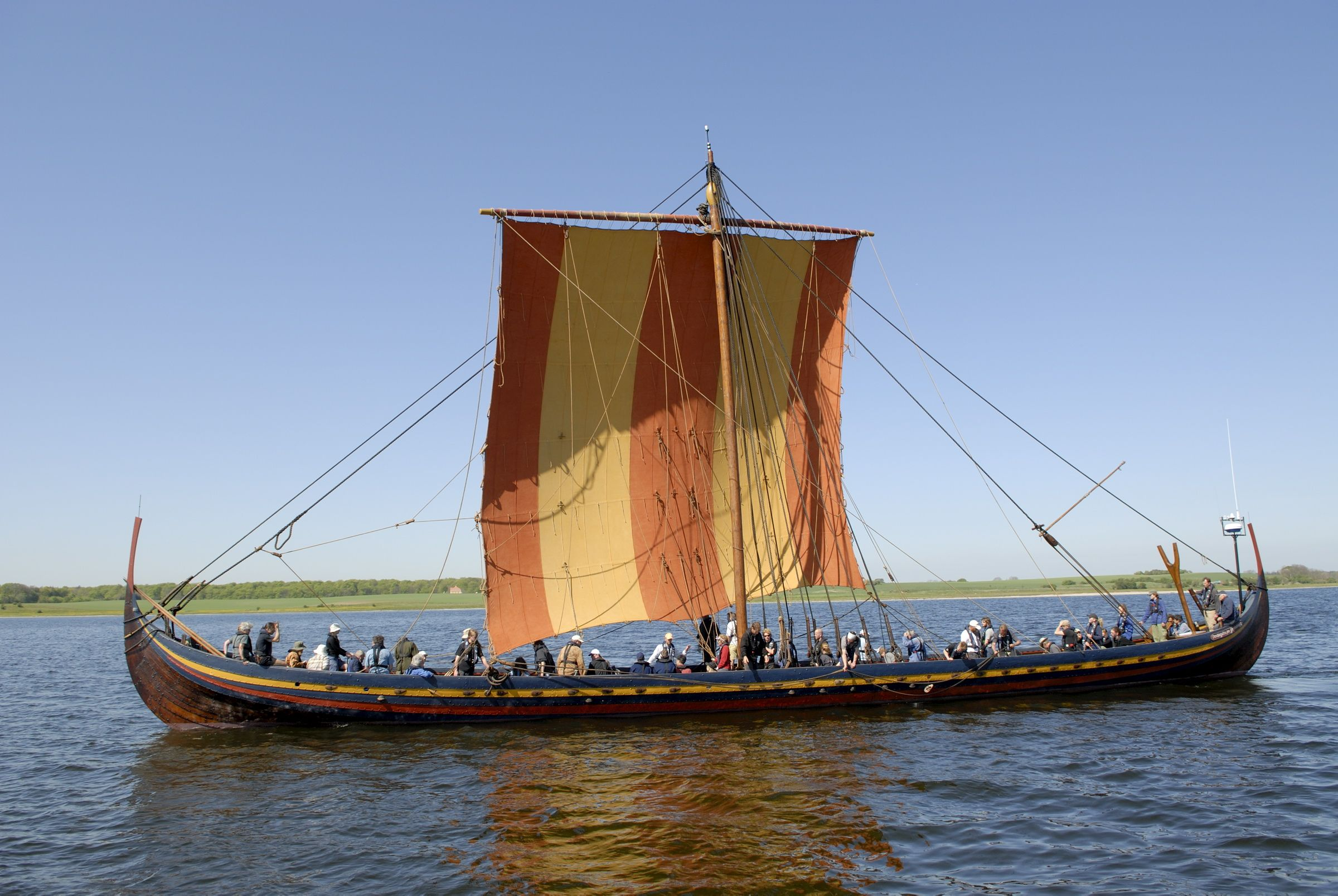 Colorful Viking: Hitting the open waters of the North Sea in July ...