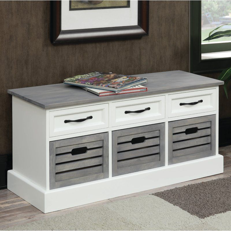 Wondrous Sarrant Wood Storage Bench In 2019 Cabinetshelf White Gamerscity Chair Design For Home Gamerscityorg