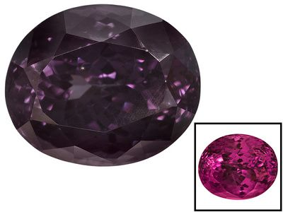 Tanzanian Color Shift Garnet 7.52ct 11.64x9.64x8.16mm Oval With S.G.L. Report By Craig Lynch
