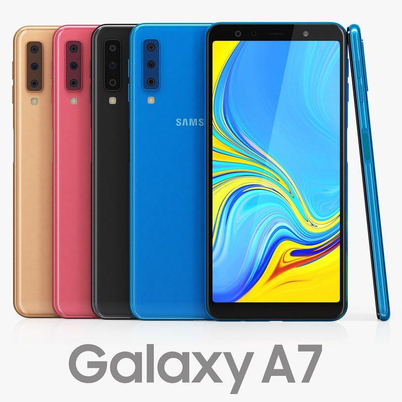 3d Samsung Galaxy A7 Color Samsung Galaxy Samsung Galaxy