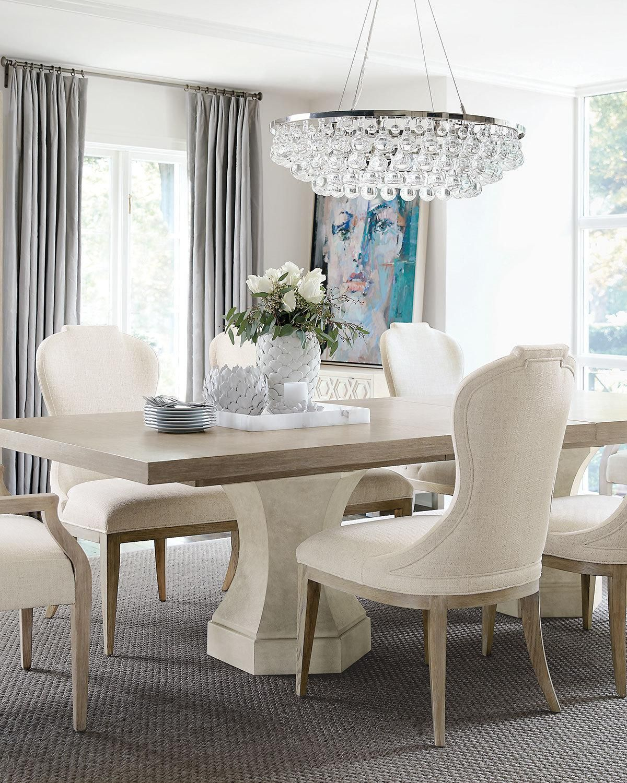 Bernhardt Santa Barbara Double Pedestal Dining Table