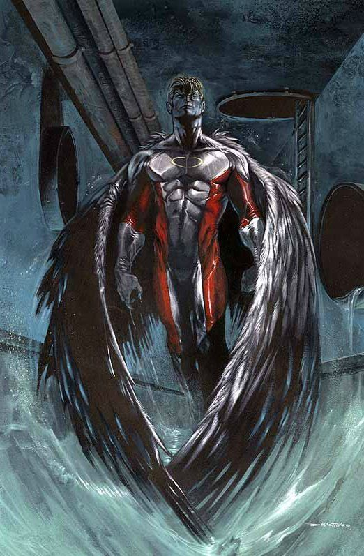 Angel By Gabriele Dell Otto Angel Xmen Marvelcomics Fanart Marvel Comics Art Comic Book Wallpaper Superhero Comic
