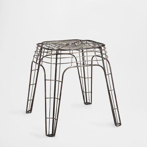Sgabello struttura metallo sgabelli mobili ausiliari for Mobili zara home