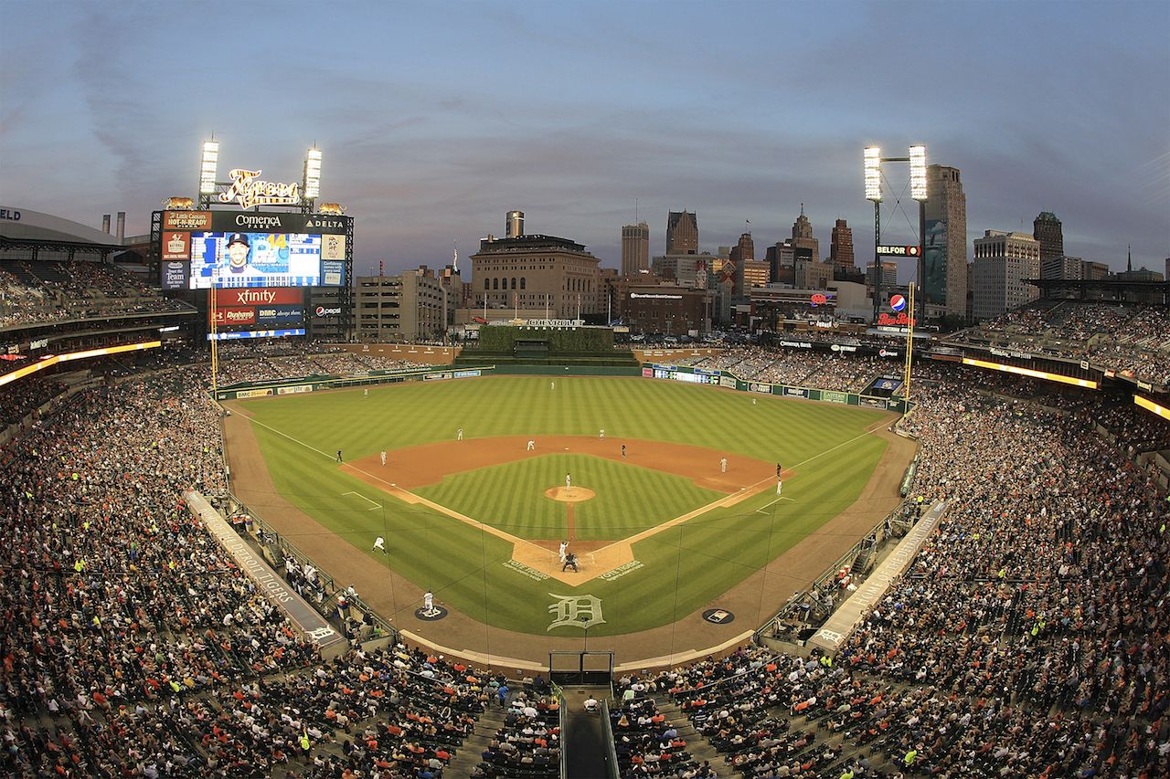 Here S A Beautiful Photo Of All 30 Ballparks To Help Get You Through The Winter Ballparks Beautiful Photo Photo
