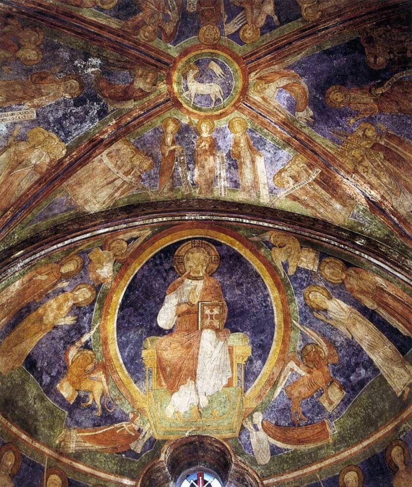 ROMANESQUE PAINTER, German, Christ in Majesty, c. 1180