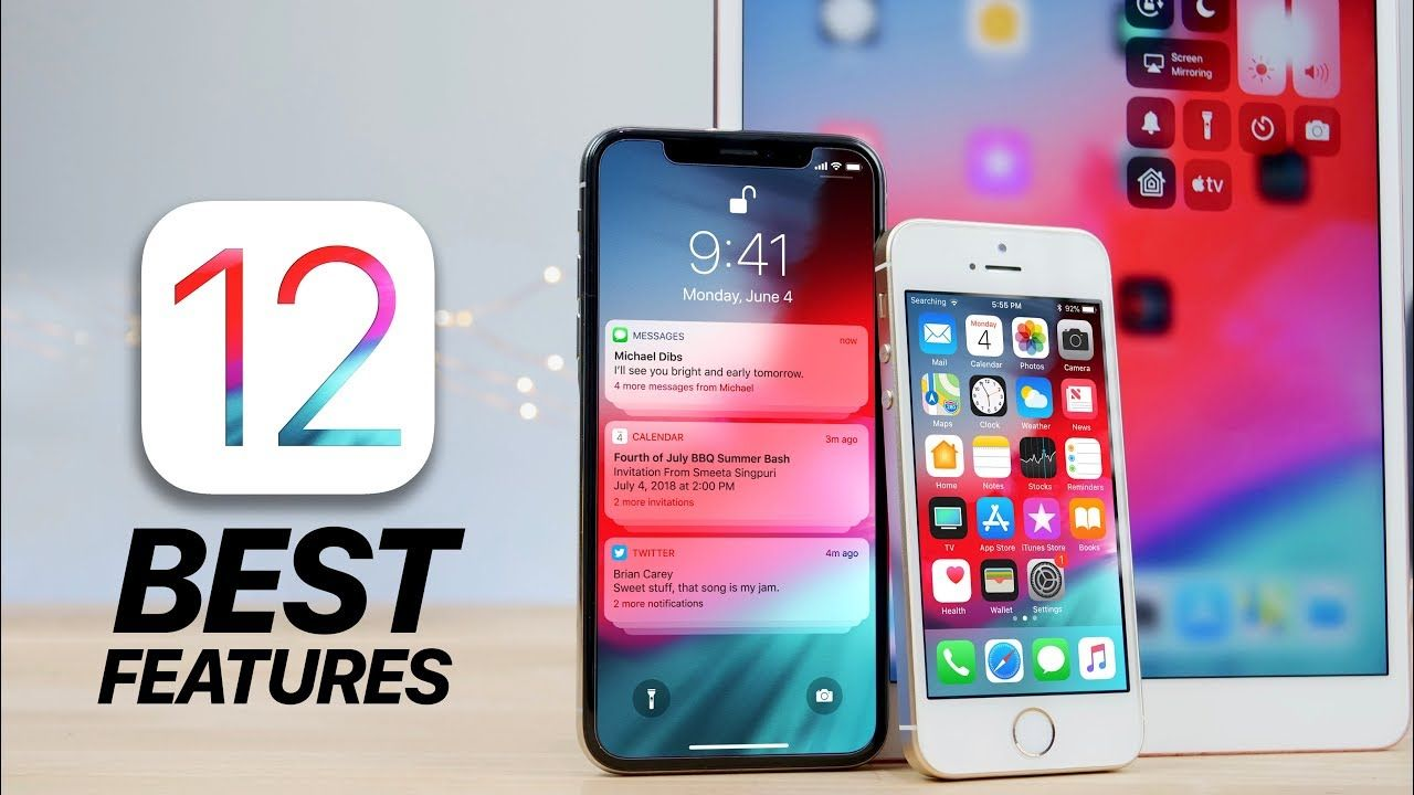 Top 12 iOS 12 Features! What's New Review Top 12 iOS 12