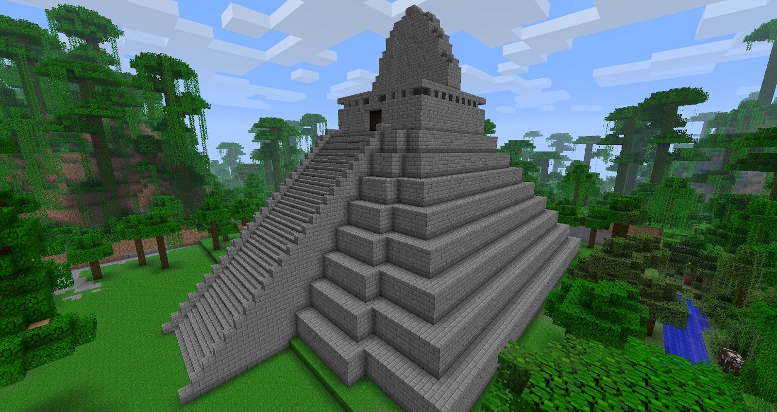 Minecraft jungle mayan temple designs building blocks minecraft jungle mayan temple designs publicscrutiny Gallery
