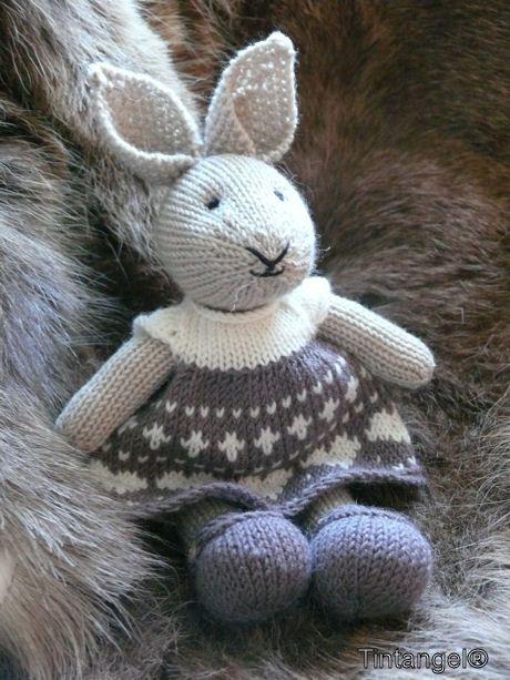 Konijntje nummer 12 | little cotton rabbits - Breien ...