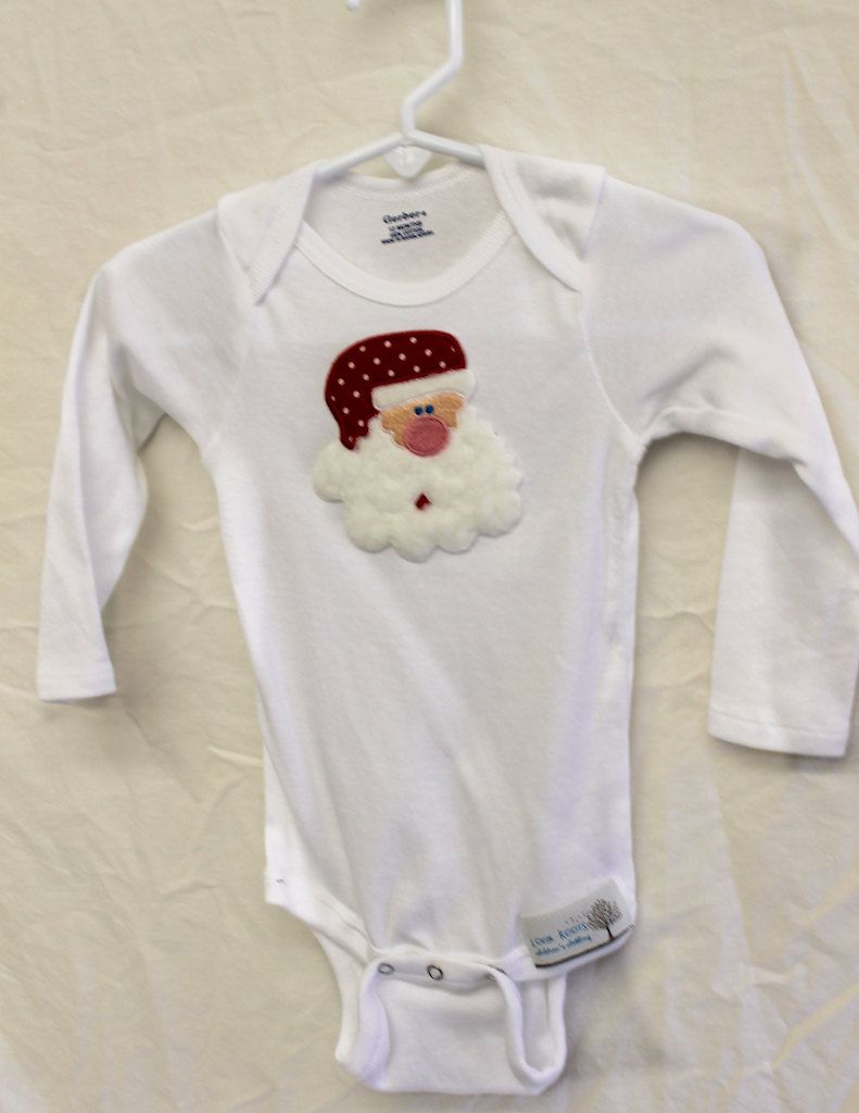 Baby Onesie Sets - Christmas Appliques - Boys or Grils Onesie ...