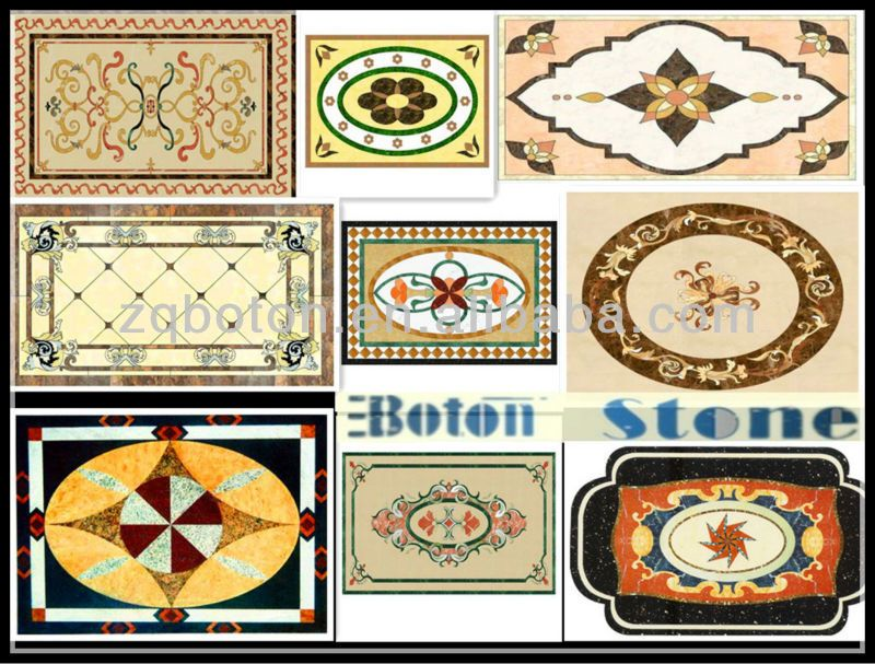 on sale> boton marble waterjet pattern for hotel/house floor
