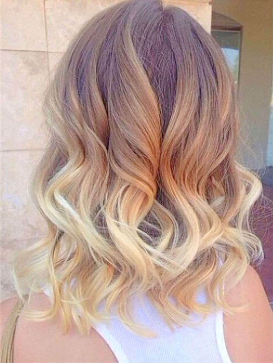 Ombre For Short Haircut Great Blonde Shoulder Length Hairstyles Hair Styles Ombre Hair Blonde Medium Hair Styles