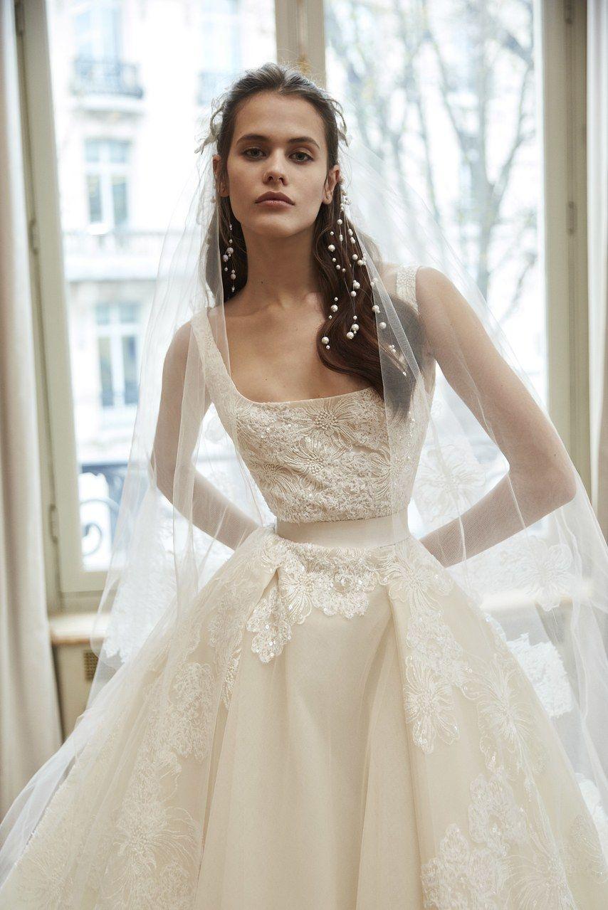 Ny bridal week vestidos de noiva elie saab bridal week desfiles