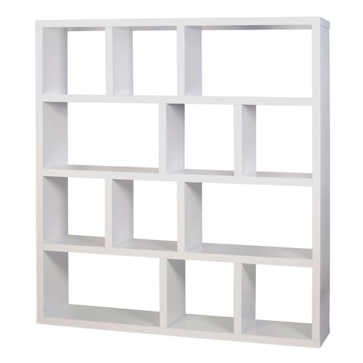 Etagere Expedit Blanc Fabulous Afbeelding In Ladder Model Domeno  # Meuble Expedit Blanc