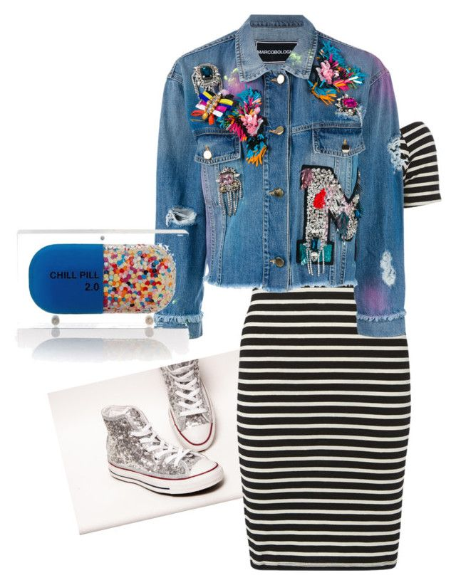 """""""FunkyFabulous"""" by lattiemoorestyle on Polyvore featuring Dorothy Perkins, MARCOBOLOGNA and Sarah's Bag"""
