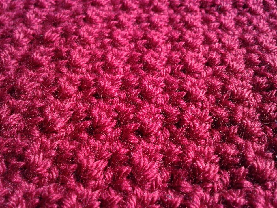 No Holes\' Baby Blanket up close. FREE Pattern here; http://www ...