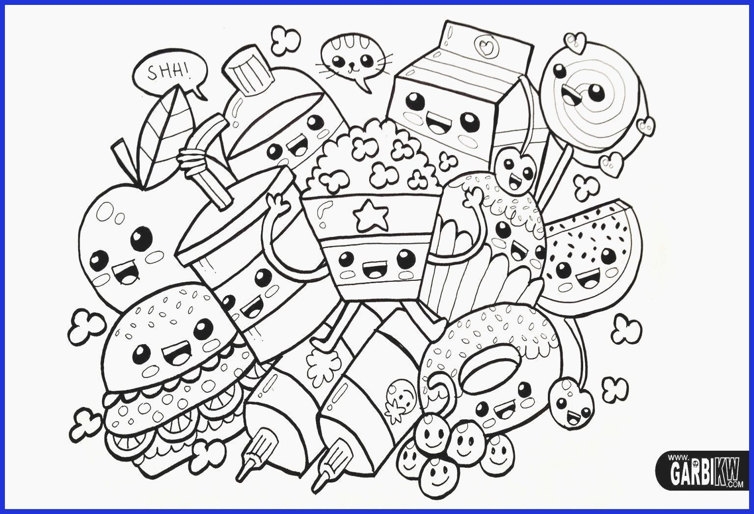Anime Coloring Page Kawaii Beautiful Cute Anime Coloring Pages Unique 52 Most Supreme Girls In 2020 Unicorn Coloring Pages Animal Coloring Books Animal Coloring Pages