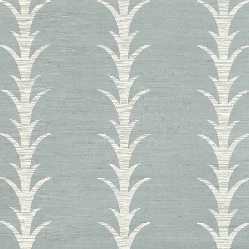 Schumacher Acanthus Stripe Wallpaper – Vanillawood