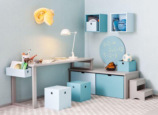 Estanter as para zona de estudio habitaciones infantiles for Muebles juveniles zona oeste