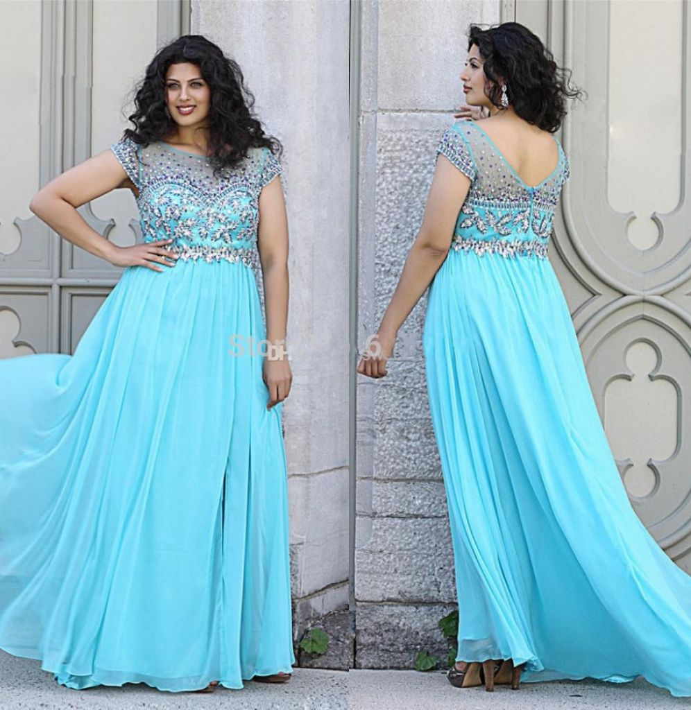 sleeve plus size prom dresses - prom dresses for chubby girl Check ...