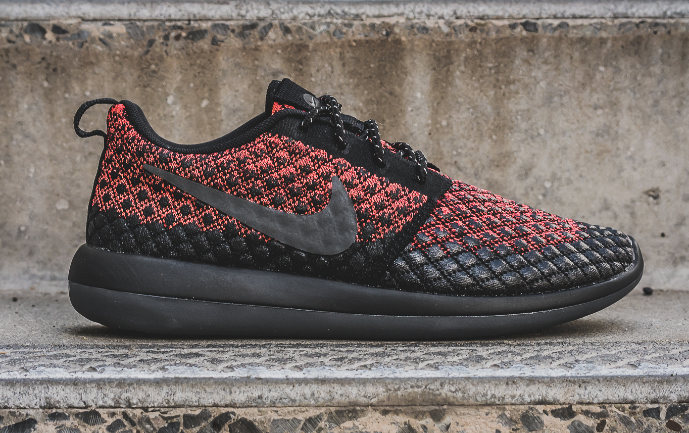 ... The Nike Roshe Two Flyknit 365 is now available in a colorway of bright  crimson dark Roshe Two Flyknit V2 ... c66a73a2c