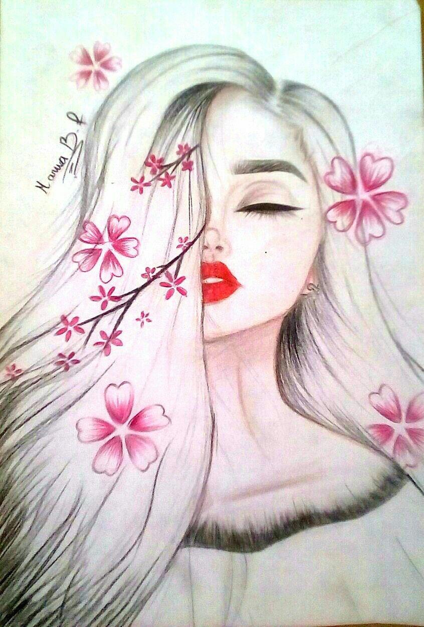 Follow My Instagram Marwa B F Drawing By Marwa B F 08 03 2018 Wish