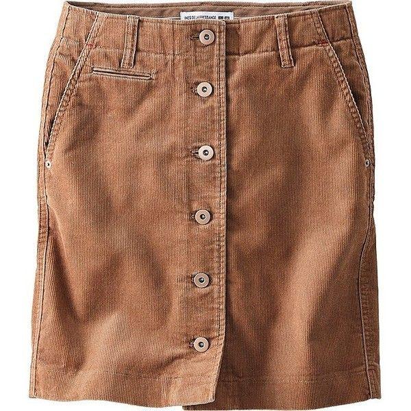 c5326bb1da UNIQLO Women Idlf Corduroy Mini Skirt featuring polyvore, women's fashion,  clothing, skirts, mini skirts, uniqlo, short skirts, corduroy skirt, brown  mini ...