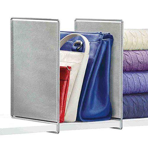 Lynk 142061 Vela Shelf Dividers, Platinum, Set of 2 Lynk ...