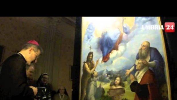 Raffaello: la Madonna di Foligno torna al Monastero di Sant'Anna