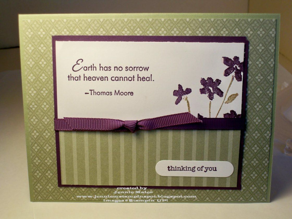 Message on funeral flowers jennie ms simple sympathy card stampin message on funeral flowers jennie ms simple sympathy card stampin spot moss and appropriate gifts egglpant designs bereavement poems of sympathy card izmirmasajfo