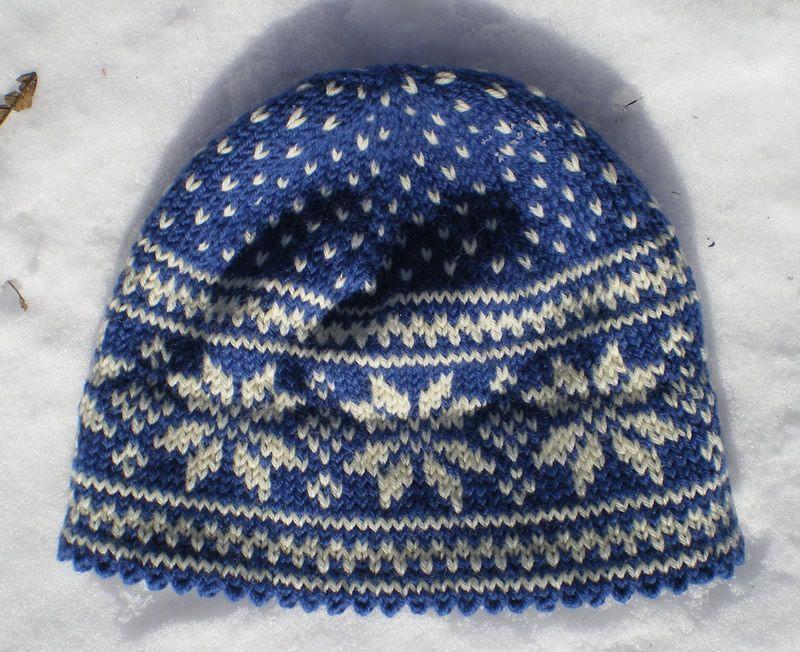 Norwegian Star Hat Strikking Pinterest Star Knitted Hat And