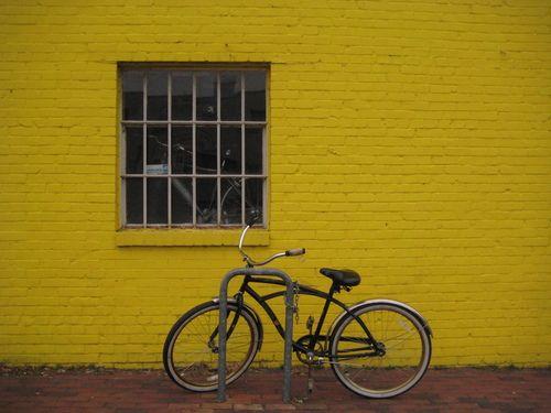 Big wheels bike, Old Alexandria town , VA