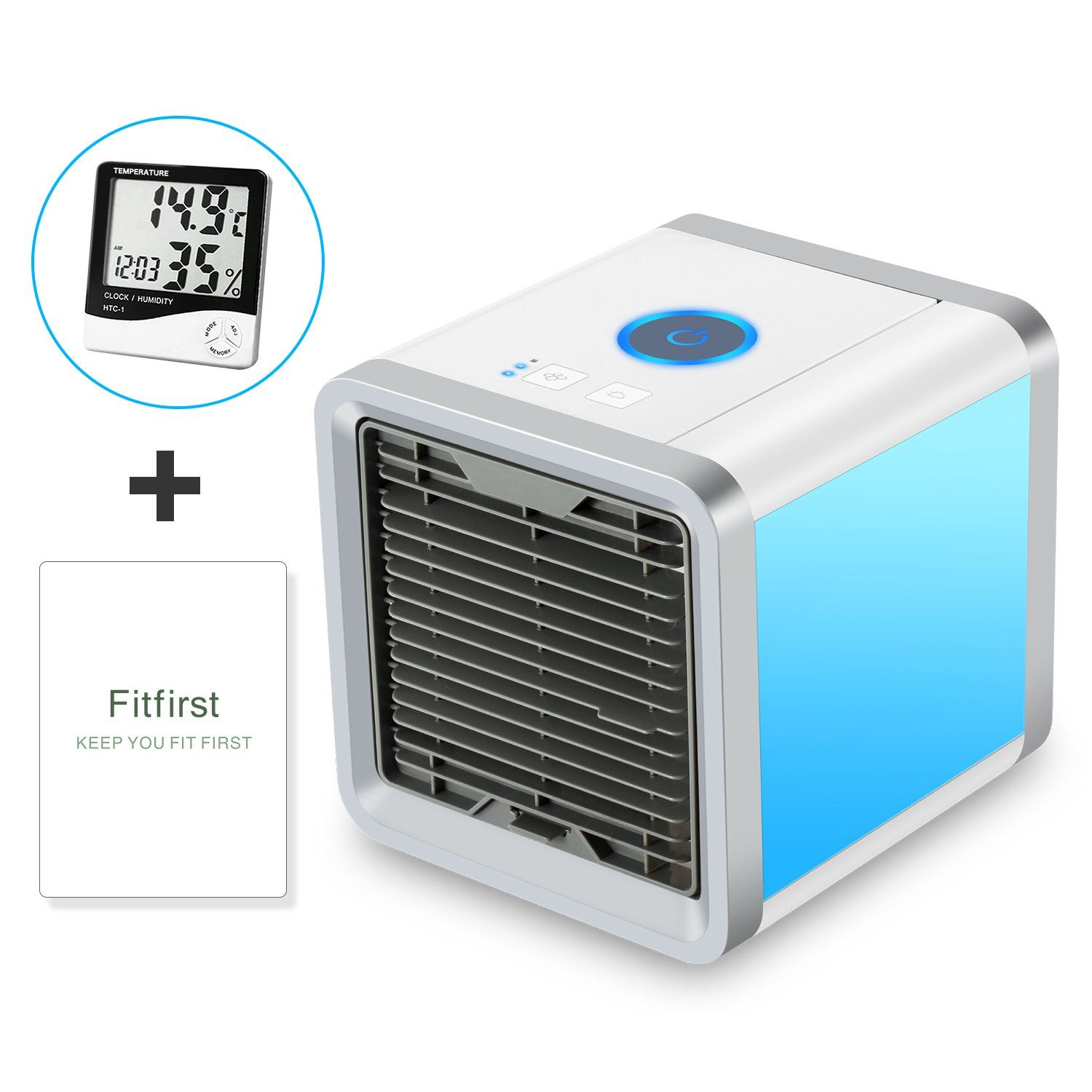 Fitfirst Personal Space Air Cooler 3 in 1 USB Mini