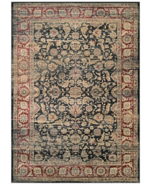 Couristan Closeout Haraz Har1143 Black Red 3 11 X 5 3 Area Rug Area Rugs Rugs Blue Area Rugs