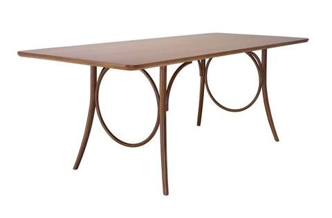 Beau Ring Bentwood Dining Table By GTV