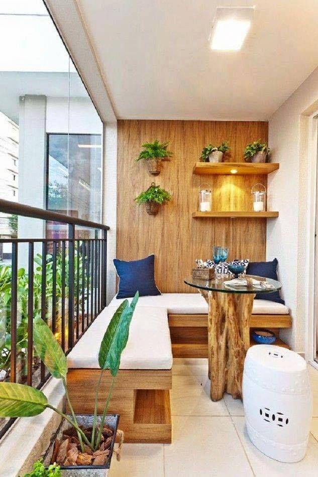 Apartment Balcony Decorating