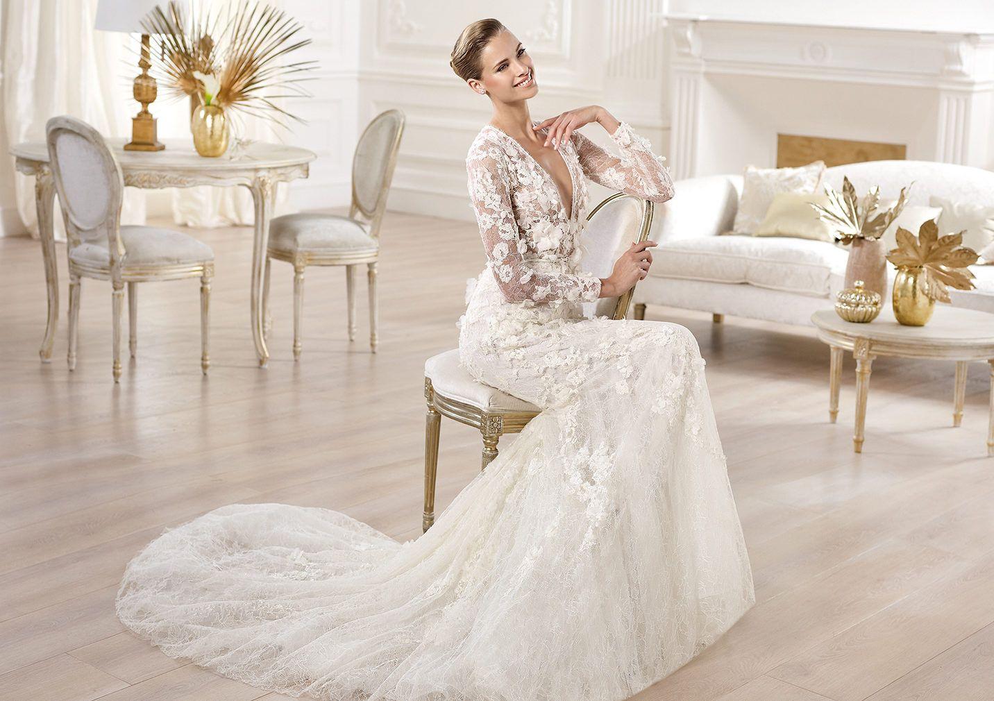 Pronovias Presents The Crux Wedding Dress. Elie By Elie