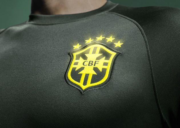 68d14a92f Brazil National Team Third Kit Glow in the dark