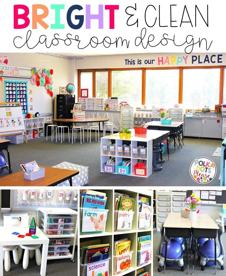 What Does A Stem Elementary School Look Like: Bright & Clean Classroom Design