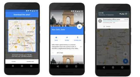 Google Maps Offline with turnbyturn directions now