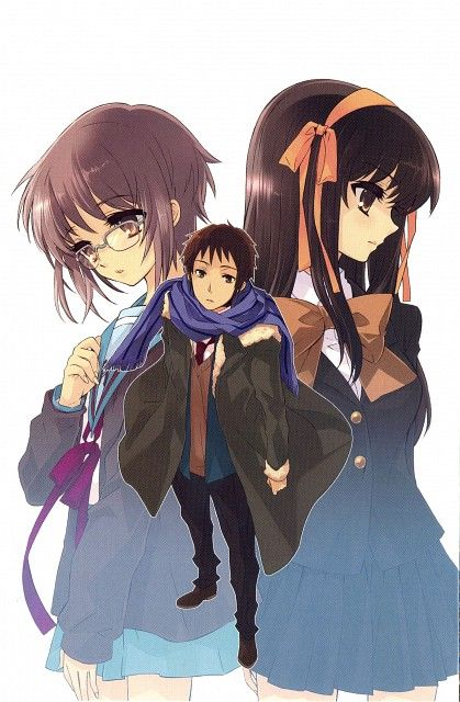 noizi ito  kyoto animation  the melancholy of suzumiya