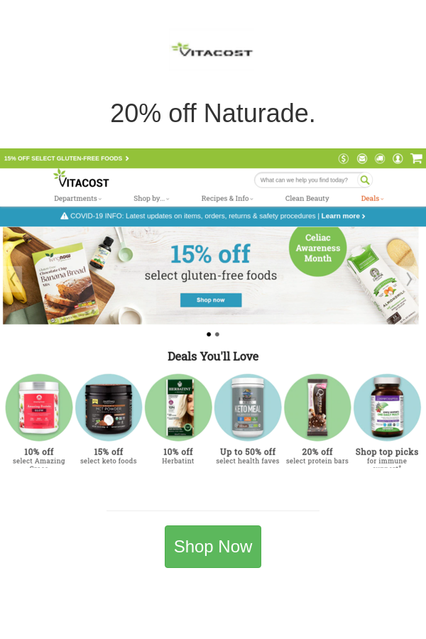 Best Deals And Coupons For Vitacost In 2020 Vitacost Rxbar Food Shop