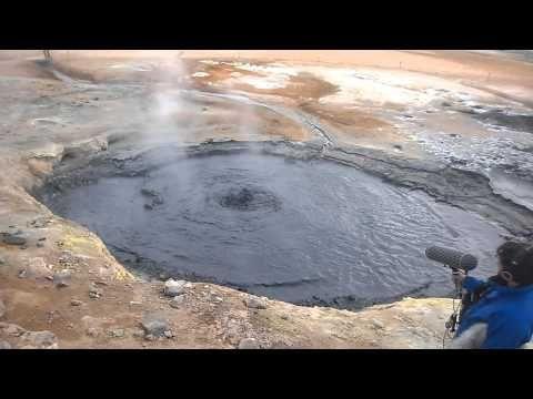 Islanti: kiehuvaa vettä