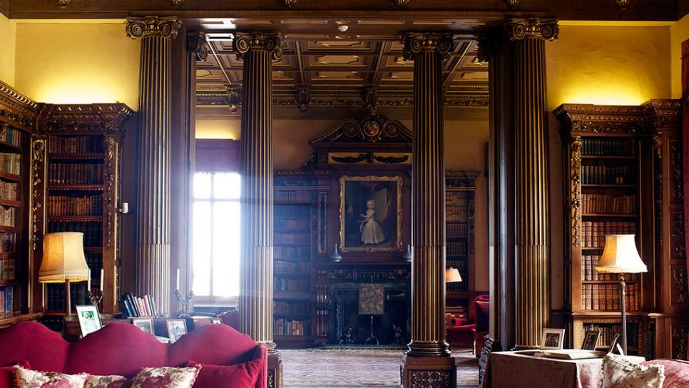 Highclere Castle Photo Tour  Castles And England Uk Prepossessing Highclere Castle Dining Room Design Decoration