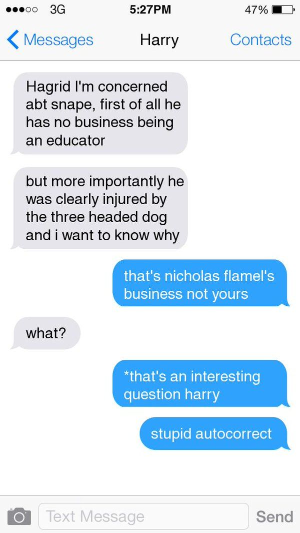 15 Harry Potter Texts The Characters Would Definitely Send Harry Potter Texts Harry Potter Funny Harry Potter Memes
