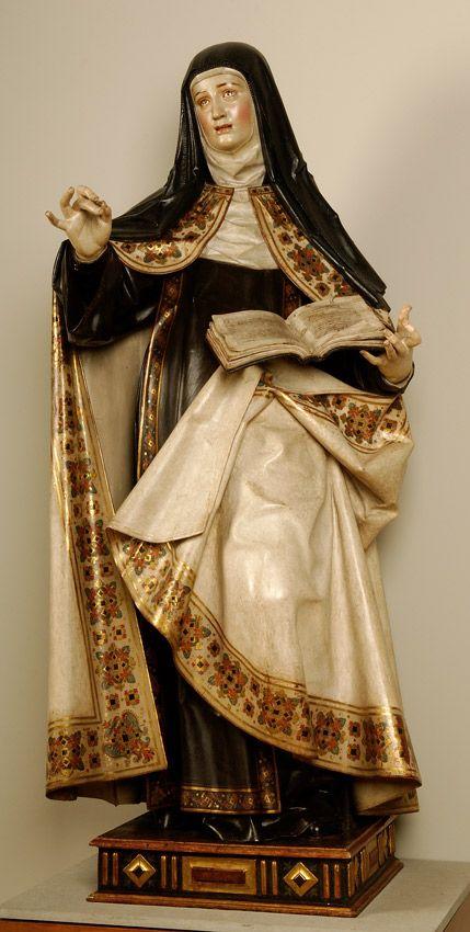 Gregorio Fernández - Santa Teresa de Jesús - 1624 - Museo Nacional de Escultura