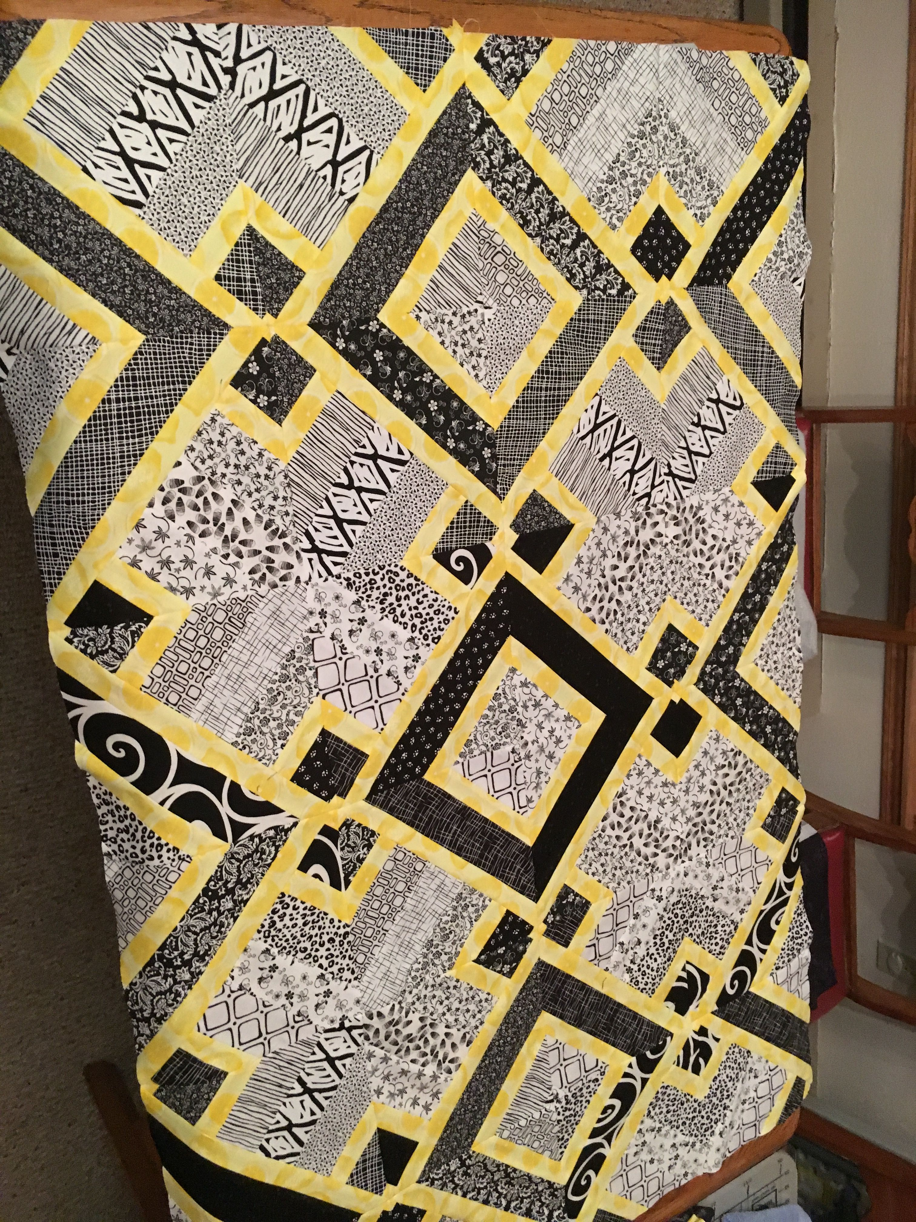 Used Rob Appell's 3 Dudes quilt pattern from Missouri Star