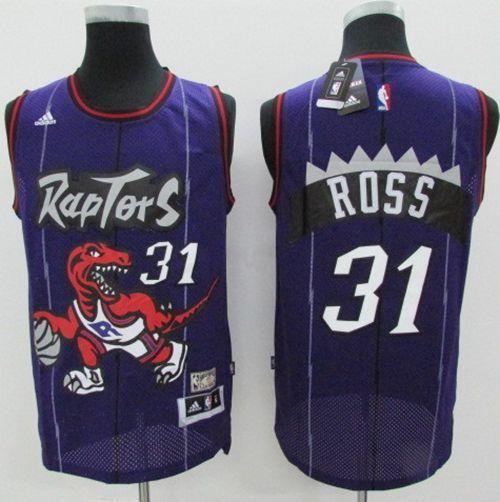 6d6bb546295 Mitchell And Ness Raptors  1 Tracy Mcgrady Purple Throwback Stitched NBA  Jersey